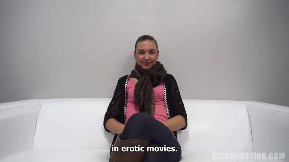 Jana пробует анальный секс на порно кастинге