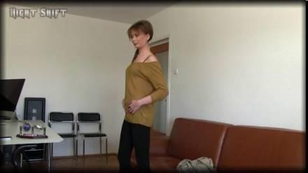 Чешская красавица трахается на кастинге с американским агентом