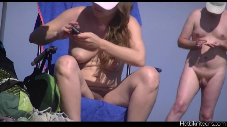 Скрытая камера засняла голых нудистов