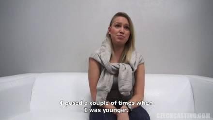 21 летняя Aneta пришла на порно кастинг в Праге