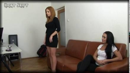 Румынские потаскушки Sarah Palher и Roseline Love трахаются с американцем